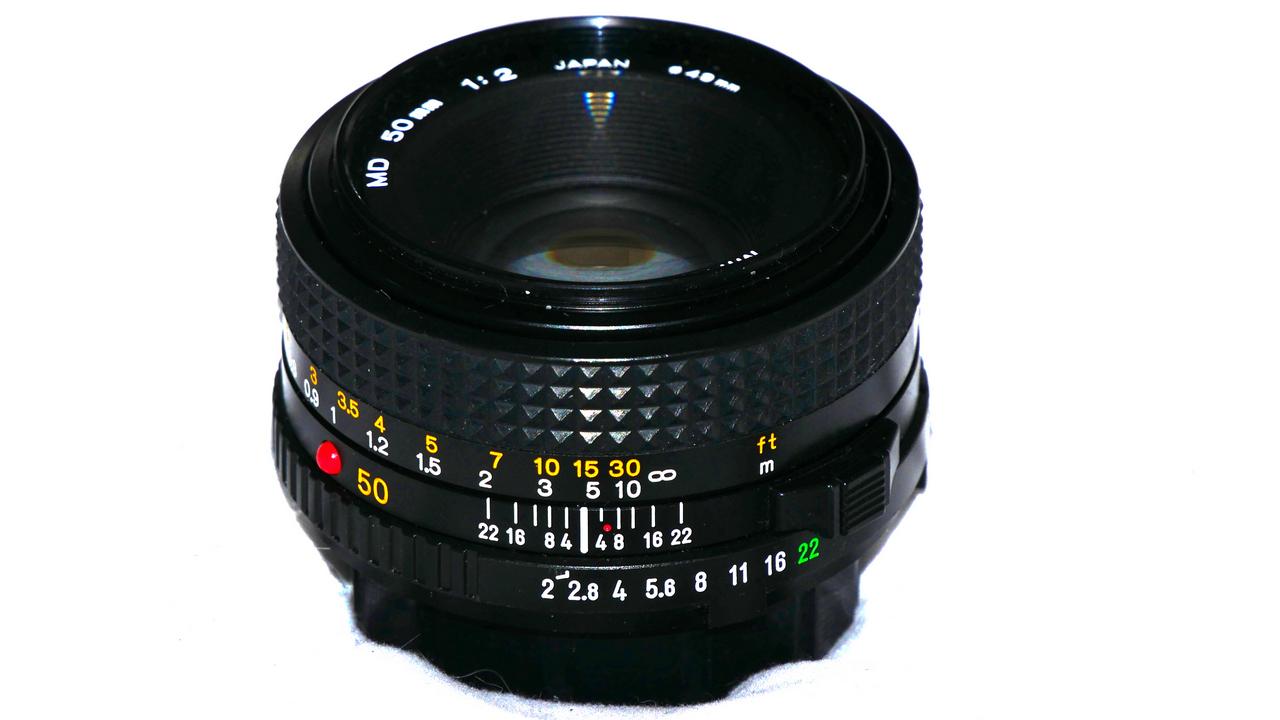 Minolta MD 50mm f2